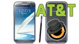 Samsung Galaxy Note 2  (AT&T) ClockworkMod Custom Recovery Install Tutorial