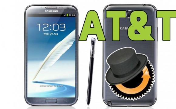 Samsung Galaxy Note 2 AT&T ClockworkMod Custom Recovery installieren Anleitung
