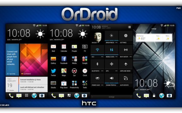HTC One Android 4.3 OrDroid Custom Rom mit Sense UI 5.5 installieren Anleitung