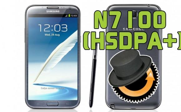 Samsung Galaxy Note 2 N7100 HDSPA+ ClockworkMod Custom Recovery installieren Anleitung