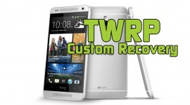 HTC One Mini TWRP Custom Recovery 2.6.0.0 installieren Anleitung