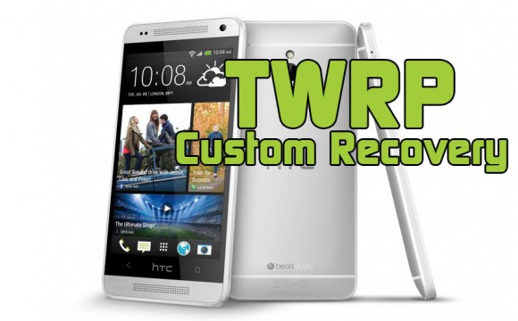 HTC One Mini TWRP Custom Recovery 2.6.0.0 Install Tutorial