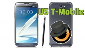 Samsung Galaxy Note 2  (US T-Mobile) ClockworkMod Custom Recovery Install Tutorial