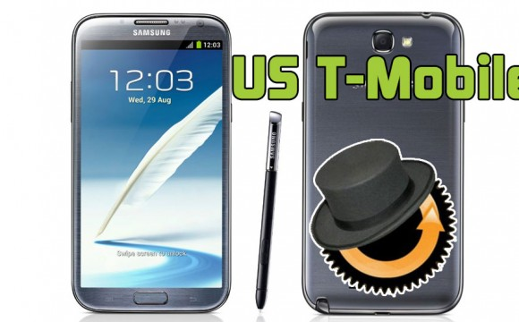 Samsung Galaxy Note 2 US T-Mobile ClockworkMod Custom Recovery installieren Anleitung