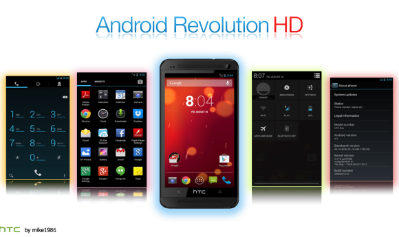 How to install Android 2.3.5 Android Revolution HD 9.2 ROM on HTC Desire HD Tutorial